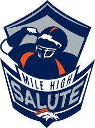 Denver Broncos   Mile High Salute