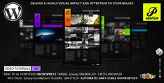 Practica Portfolio - Sophisticated WordPress Theme by crozer  Current version: 4.2 (July 12, 2015)Fixed prettyPhoto XSS bugWhat others are saying: Thanks for getting back to me so soon! Its