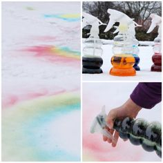 How to paint snow – winter aesthetic Bloğ Kids Painting Activities, Indoor Activities For Toddlers, Painting For Kids, Fun Activities, Winter Party Themes, Winter Fun, Winter Storm, Painting Snow, Snow Fun