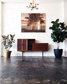 Mid Century Credenza and Bar by PROPAGATION on Etsy
