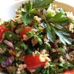 "Veggie Bulgur Salad (Kisir) | ""The pomegranate molasses really made it special."""