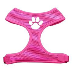 Mirage Pet Products Paw Design Soft Mesh Dog Harnesses, X-Large, Pink ** Special dog product just for you. : Leashes for dogs Diva Design, Cat Harness, Cat Training Pads, Cat Shedding, Dog Items, Cat Grooming, Pet Collars, Dog Leash, Cat Toys