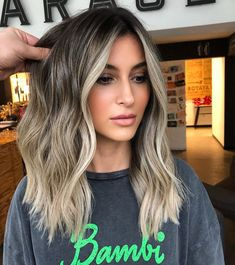62 best of balayage shadow root babylights hair colors for 2019 42 Blonde hair models – Hair Models-Hair Styles Balayage Highlights, Hair Color Balayage, Color Highlights, Haircolor, Face Frame Highlights, Balayage Hair Brunette With Blonde, Blonde Highlights On Dark Hair, Growing Out Highlights, Brown Medium Length Hair With Highlights