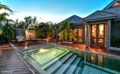 Pebble Tiles, Pebble Stone, Stone Mosaic, Mosaic Tiles, Stone Bathtub, Stone Sink, River Stones, Hotel Pool, Beautiful Interiors
