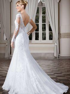 Vestidos de noiva - Coleção Callas (23) Costas