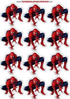 Spiderman Theme Party, Spiderman Movie, Superman Birthday, Superhero Birthday Party, Fête Spider Man, Masha Et Mishka, Spiderman Cake Topper, Spiderman Pictures, Wonder Woman Party