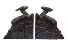 Jumping Impala Bookends