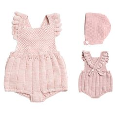The Glow's very own co-founder shares her top 24 extensively-researched, beautifully-designed new baby must-haves, and the reason why each piece has been indispensable to her as a new mom. Baby Knitting Patterns, Knitting For Kids, Baby Outfits, Kids Outfits, Baby Overall, Baby Pullover, Romper Pattern, Big Knits, Knitted Baby Clothes