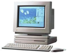 He aquí mi primer Mac, hace ya más de 20 años ;-)