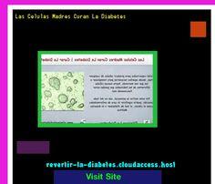 Las Celulas Madres Curan La Diabetes 200451 - Aprenda como vencer la diabetes y recuperar su salud.