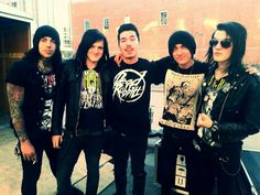 Uriah with the relapse symphony great guys