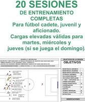 20 SESIONES DE ENTRENAMIENTO PARA FÚTBOL JUVENIL Y AFICIONADO Football Drills, Abs Workout For Women, Soccer Training, Academia, Fit Women, Coaching, Sports, Football Stuff, Barcelona