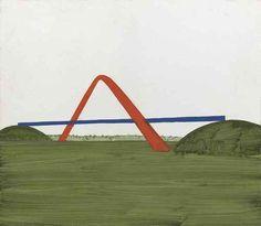 Wilhelm Sasnal (Polish, b. 1972), Untitled (A Bridge), 2003