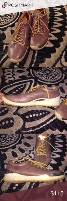 Ecco golf shoes Worn maybe twice paid at least $200 for them fit like a women's 7/8 Ecco Shoes Athletic Shoes