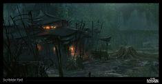 Shadow of Mordor - Concept Sketch - Social Network for Visual Effects Professionals - VFX Art Portal