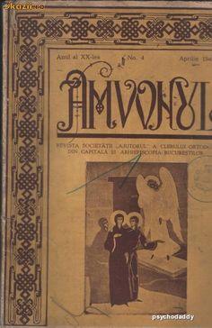 Amvonul - Revista Clerului Ortodox 1941- foto mare