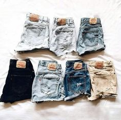 6 or Tag your friends and choose your shorts. Teen Fashion Outfits, Outfits For Teens, Girl Fashion, 90s Fashion, Style Fashion, Cute Lazy Outfits, Jugend Mode Outfits, Cute Jeans, Teenager Outfits