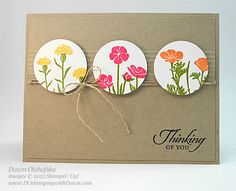 Stampin' Up! Wild About Flowers card by Dawn Olchefske for DOstamperSTARS Thursday Challenge #137 #dostamping #stampinup