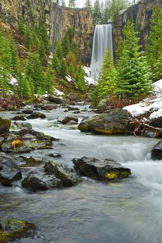 Tumalo Falls, Oregon, USA.I want to go see this place one day.Please check out my website thanks. www.photopix.co.nz