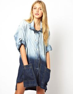 Vivienne Westwood | Vivienne Westwood Anglomania Jeans Denim Dress at ASOS