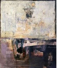 """Katherine Chang Liu - """"Scaffold"""";  2010 - Mixed media on paper   49 X 42 inches Framed"""