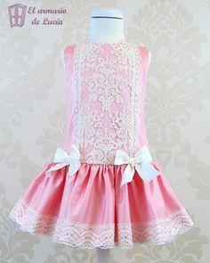 Como hacer un vestido talle largo para nina