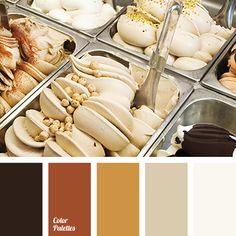 Farbschema | Schwarz Gelb Weiß | warm