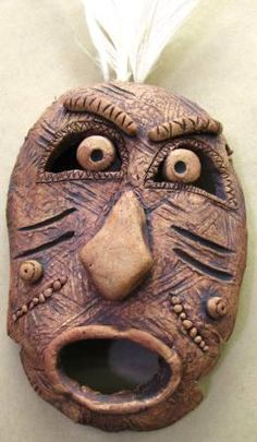 Excellent Free of Charge Sculpture Clay mask Popular There are numerous types of clay-based used for sculpture, most diverse concerning dealing with and finish. Sculpture Lessons, Sculpture Clay, Bronze Sculpture, Ceramic Mask, Ceramic Clay, Ceramic Sculpture Figurative, Pottery Lessons, Clay Faces, Masks Art