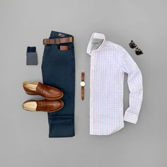 Style Grid - - The Ivy Legend is a classic business casual leather loafer with all the features you expect in a Samuel Hubbard shoe. Shop the collection today! Business Casual Attire For Men, Men Casual, Business Formal, Professional Attire, Casual Shirt, Smart Casual, Business Dress, Business Fashion, Stylish Mens Outfits