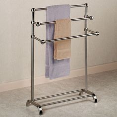 Floor Standing Towel Racks Free Standing Towel Rack With