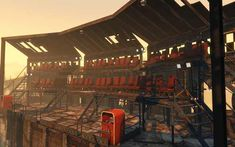 Post with 16 votes and 2957 views. The Atomic Circus Fallout 4 Settlement Ideas, Base Building, Fall Out 4, Post Apocalypse, Game Ideas, Sci Fi Art, Madness, Canon, Zen