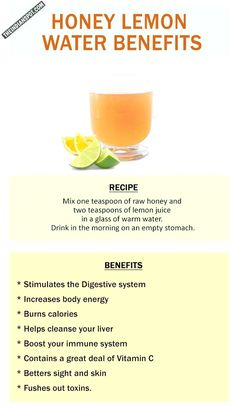 A detox drink first thing in the morning is essential since it balances the pH in our intestines and regulates bowel movement too. We are all aware how beneficial honey and lemon is for our body and many have lemon water or honey water in the morning whic Honey Lemon Water, Lemon Water Benefits, Honey Benefits, Lavender Honey, Raw Honey, Detox Plan, Weight Loss Water, Weight Loss Drinks, Weight Loss Detox