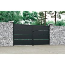 18 Best Portail Et Portillon Images Steel Driveway Gate Door Entry