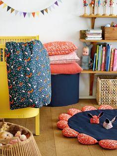 Babyrug rabbit and bed pocket - Stoff & Stil - DIY kid's room makeover - DIY sewing