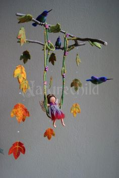 Wow! I want every single one of this artist's mobiles...for myself! Best mobiles ever!!