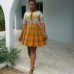 Check Out These Best latest african fashion look 2204 African Dresses For Women, African Print Dresses, African Attire, African Wear, African Fashion Dresses, African Women, African Prints, Ankara Fashion, African Clothes