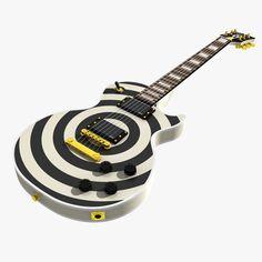 Gibson Zakk Wylde Max - 3D Model