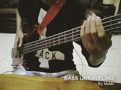 Bass Unraveling... #direngrey #unraveling #bass #cover #basscover #coverbass #kyo #toshiya #bassist
