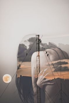 I  don't like showing a lot of my face in photos, so instead I create surreal and double exposure portraits.  I've always loved double exposure portraits, I think it adds a certain 'edge' and uniqueness that can in lots of times, turn a plain photo into something completely different and special.