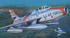 F-84F Thunderstreak (Don Greer)