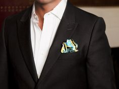 Wear A Pretentious Pocket Square to the Opening Day of Polo