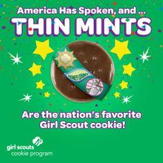 Congrats Thin Mints!