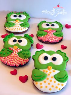 cookies decorated with royal icing