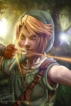 A breathtaking Link fan art by Guzzardi on Deviantart!