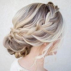 Image via We Heart It #blonde #hair #hairstyle #pretty #braide