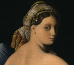 """Grand Odalisque"" (detail) by Jean Auguste Dominique Ingres"