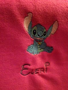 Stitch and name