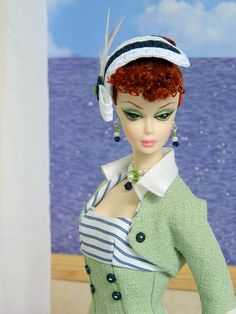 ~Beyond the Sea~ OOAK Summer Fashion for Silkstone/Vintage Barbie/Fashion Royalty~Joby