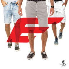Ellus for him: jeans e bermudas super confortáveis para homens de todos os estilos e todas as ocasiões ;) #EllusForHim #Ellus #RadicalChic #Homem #Moda #ValeDoAço