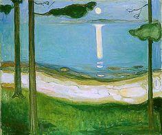 Claro de Luna. Eduard Munch